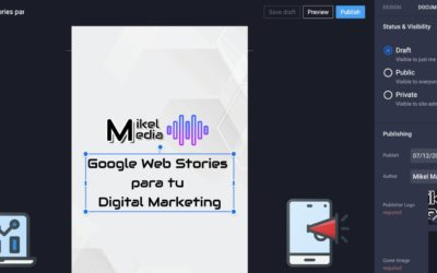 Google Web Stories para tu Digital Marketing